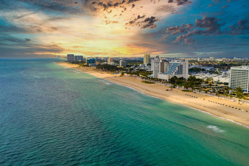 Fort Lauderdale Beach Skyline