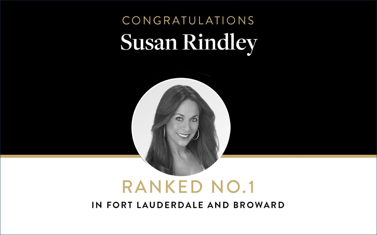 Susan Rindley Ranked No. 1