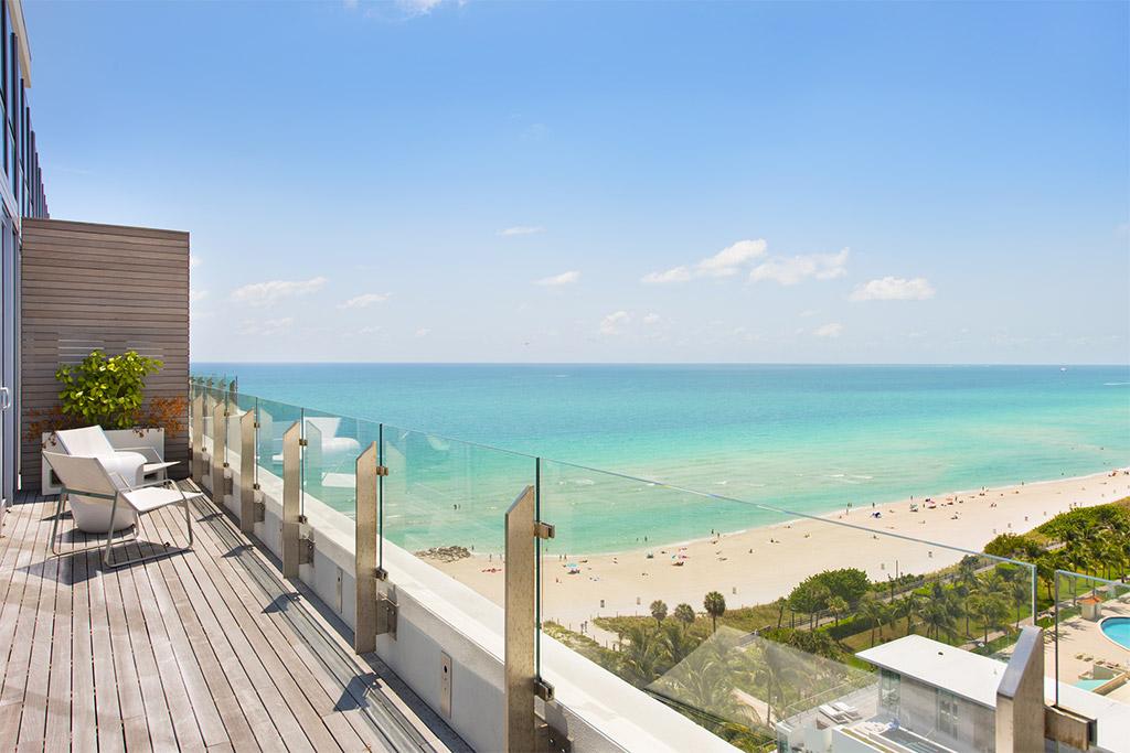 Miami Beach Condo Balcony